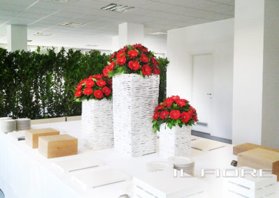 allestimenti floreali per ricevimenti il fiore roma